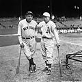 Jimmie Foxx & Babe Ruth