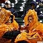 金鶯球迷冒雨觀戰