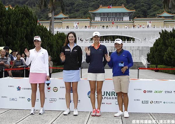揚昇 LPGA 台灣錦標賽賽前記者會