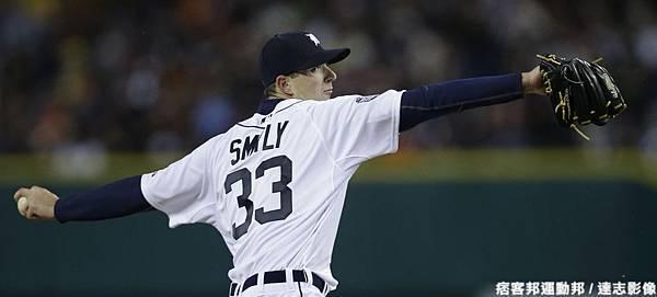 年輕左投 Drew Smyly  再度登板後援