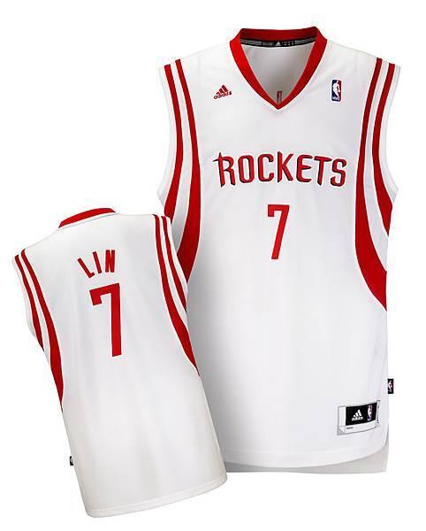 林書豪休士頓火箭隊7號白色主場球衣_售價NT$2,490