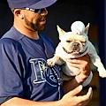 Price 和愛犬 Astro