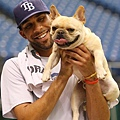 David Price 和他的愛犬