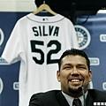 10. Carlos Silva – 西雅圖水手