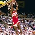 Dominique Wilkins – 1987年 亞特蘭大老鷹 vs 費城76人