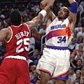 Charles Barkley – 1993年 休士頓火箭 vs 鳳凰城太陽