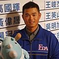 胡金龍獲選為2013年選秀會之狀元