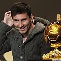 Lionel Messi 四奪金球獎