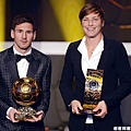 Lionel Messi 和 Abby Wambach
