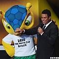 巴西傳奇球星 Ronaldo 出席典禮