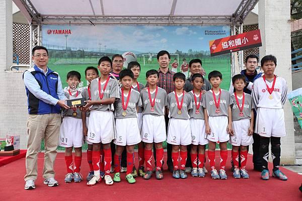 第四屆YAMAHA CUP快樂踢球趣-由協和國小搶下本屆冠軍