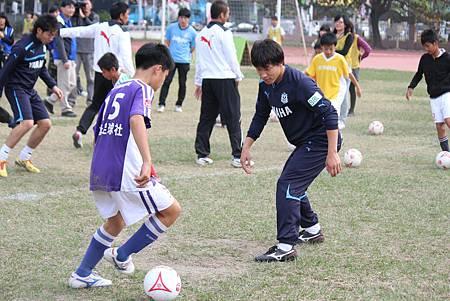 第四屆YAMAHA CUP快樂踢球趣-Jubilo進行課堂教學