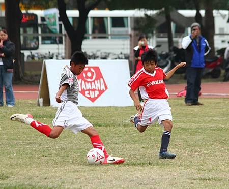 第四屆YAMAHA CUP快樂踢球趣--冠軍戰精彩照片