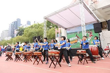 第四屆YAMAHA CUP快樂踢球趣-記者會-由足夢校園巡迴的龍興國小進行開幕表演