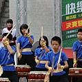 龍興國小鼓技表演