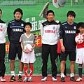 Jubilo隊的教練與球員