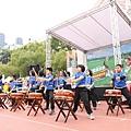 賽前由足夢校園巡迴的龍興國小進行開幕表演