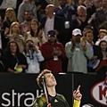 Andy Murray 淘汰 Roger Federer 後殺進最終決賽