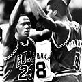 7.1986--季後賽首輪第二戰  對上綠衫軍攻得63分