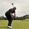 41.高爾夫球場上的 Charles Barkley