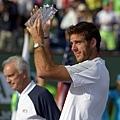 Rafael Nadal 擊退 Juan Martin del Potro  拿下傷後首場硬地冠軍