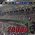 兩萬名熱血球迷擠爆澄清湖球場 創下中職例行賽最高票房紀錄