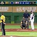 歷史性的一刻!曼尼(Manny Ramirez) 中華職棒首打席 2013.03.27