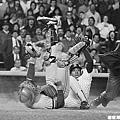 1985 - Willie Randolph (右) 與 Mark Salas