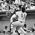 1978 - Willie Wilson (左) 與 Thurman Munson