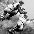1963 - Carl Yastrzemski (右) 與 Joe Azcue