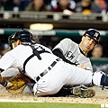 2009 - Mark Teixeira (右) 與 Gerald Laird