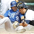 2010 - David DeJesus (左) 與 Gerald Laird
