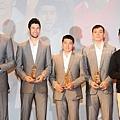 年度第一隊璞園獨佔四位,包括陳世杰、簡浩、戴維斯以及蔡文誠,另一位為金酒林冠綸