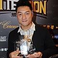 金酒林冠綸奪得年度進步獎在內的三項年度大獎,成為蔡文誠外最大的贏家