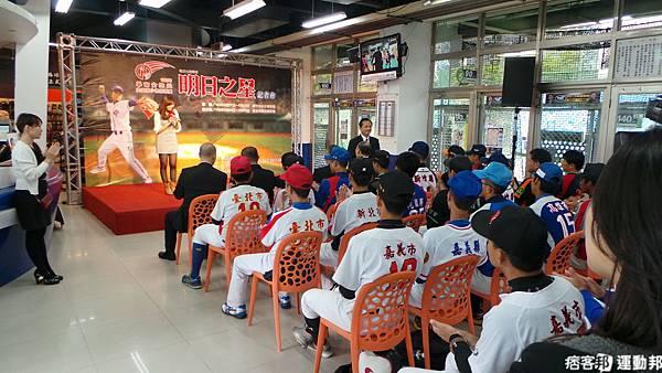 LLB世界青少棒中華隊國手選拔 華南金控盃賽前記者會 2012.04.22