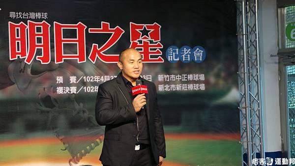 華南金控「圓夢棒球教室」總教官 張泰山