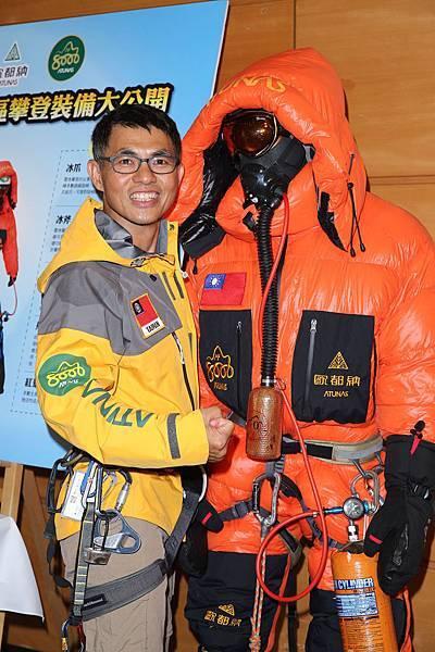 歐都納2013迦舒布魯II峰攀登隊-隊員 不老戰將 林文逸