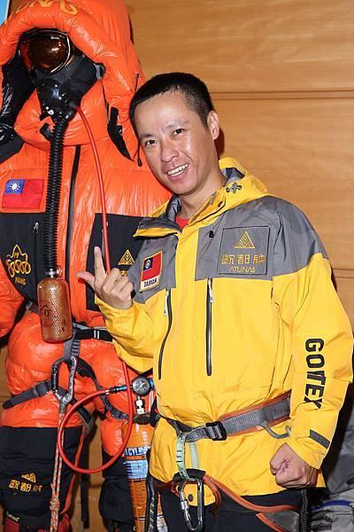 歐都納2013迦舒布魯II峰攀登隊-隊員新手老爸 黃文辰