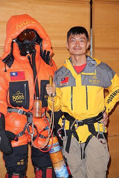 歐都納2013迦舒布魯II峰攀登隊-隊員 16年前完成攀登聖母峰紀錄 陳國鈞 小黑