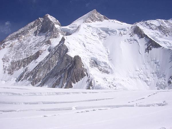圖為2013年目標-世界第13高峰迦舒布魯II峰