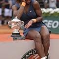 法網女單冠軍Serena Williams