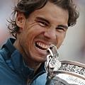 冠軍Rafael Nadal