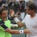 Nadal與Ferrer賽後