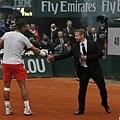 Nadal感謝保護他的維安人員
