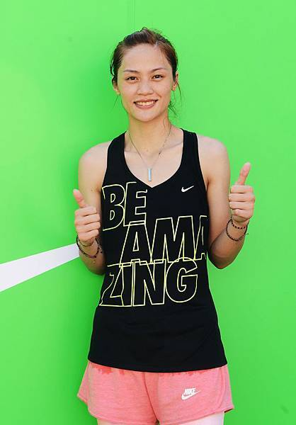 Nike運動員曾櫟騁樂情參與女生路跑挑戰10公里,鼓勵女生用運動找出屬於自己的魅力
