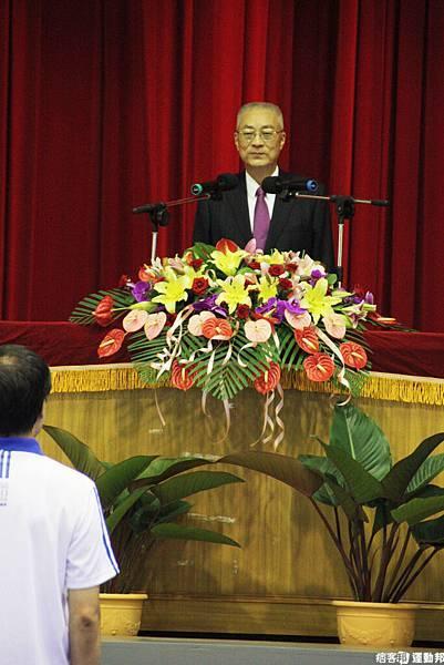 副總統吳敦義親至左訓中心