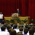 副總統吳敦義給予選手訓勉