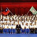 中華代表團與副總統吳敦義合影