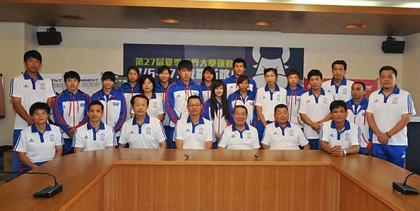 中華隊教練與選手