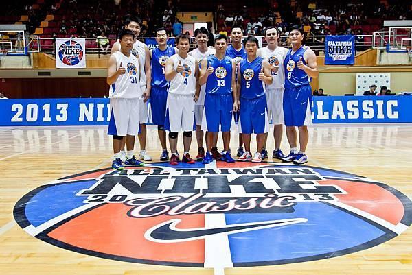 中華男籃傳奇再現NIKE台灣籃球經典賽